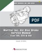 Meritor Service Manual ELSA195 and ELSA225 - MM0350