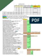 Base de Datos y Cuadro de Notas 4 Con Respuestas Al Lado
