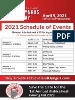 Cleveland Dyngus Day 2021 schedule