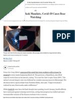 Texas Masks Data