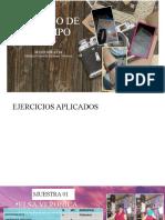 EJEMPLO DE UN DIARIO DE CAMPO, MUESTRAS DE MONOGRAFÍA DEL AREA CDES
