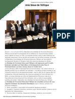Stratégie de l'Économie Bleue de l'Afrique _ GoGIN