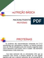 3ª aula Proteínas