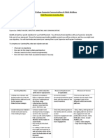 FP Learning Plan