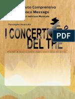 Concerti Del the Diapositiva Contenitore