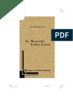 El Maestro Como Lider, Luis Beltran Prieto Figueroa .