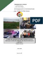 Cadre de Gestion Environnementale Et Sociale