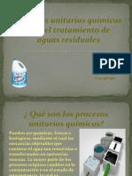 procesos quimicos tratamiento del agua