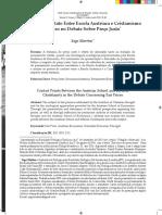 Pontos de Contato Entre Escola Austríaca e Cristianismo Bíblico no Debate Sobre Preço Justo - Yago Martins