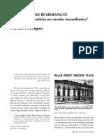 Domingues Petrônio Frente Negra Brasileira No Circuito Transatlântico