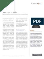 Connex-SonicWall TZ Series Datasheet-PTBR