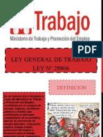 Ley General de Trabajo Ley N° 28806