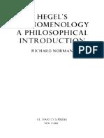 Richard J. Norman - Hegel's Phenomenology_ a Philosophical Introduction (1976, Sussex University Press) - Libgen.lc