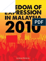 Freedom of Expression in Malaysia 2010