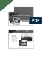 Presentation - Navigation Maintenance and Dredging