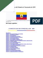 CONSTITUCION DE 1830