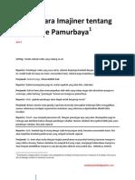 Wawancara Imajiner tentang Kondisi Mangrove Pantai Timur Surabaya