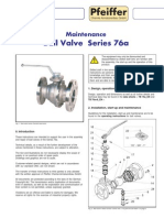 Valve specification