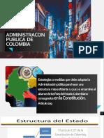 ADMINISTRACON PUBLICA  DE COLOMBIA DIPOSITIVAS