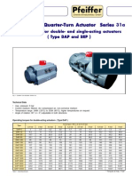Actuator specification