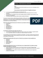 Personal Preferences - Workshop