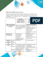 Matriz - fase 3 Análisis