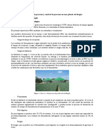 Elaboración de proceso y control de proceso en una planta de biogás