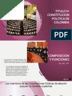 Titulo Vi Rama Legislativa