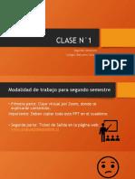 Clase N°1 - Segundo Semestre 4° Básico