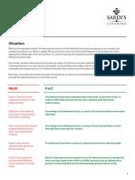 Sardi's Catering - Myth vs Fact Sheet