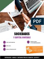 SOCIEDADES Y CAPITAL CONTABLE - CONTABILIDAD