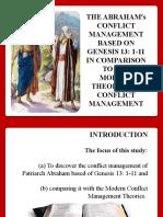 Abraham's conflict Presentations