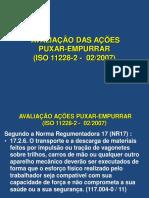AplicaçãoISO11228-2