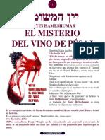 El misterio del vino de Pésaj