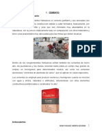 QUIMICA MATERIALES DE CONSTRUCCION