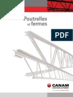 Canam Catalogue Poutrelles Fermes 2014