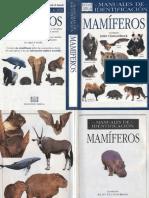 Animales Manual de Identificacion de Mamiferos OCR