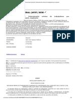 RG (AFIP) 3038 - Presunciones laborales. Determinación mínima de trabajadores por actividad