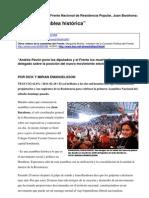 110226 Entrevista a Juan Barahona, sub coordinador del Frente Nacional de Resistencia Popular
