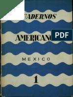 Cuadernos Americanos No. 1 (1942)