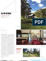Sanctuary magazine issue 14 - Pavilion Living - Eumundi, QLD green home profile