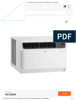 Ar-Condicionado Janela LG Inverter Dual 10.000 BTUS Frio - Loja VIVO