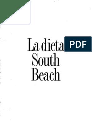 dulces de la dieta de south beach
