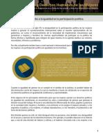 Derecho Igualdad Participacion Politica
