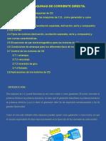 Máquinas de Corriente Directa. Oct-12-2020