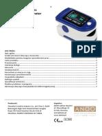 pulsoksymetr - instrukcja obsługi