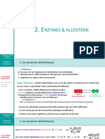 CM Regulation Metabolique 2 Enzymes Et Allosterie 2019 Mod