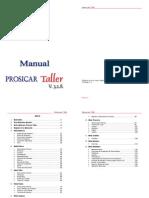 manual prosicar taller