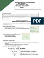 Matematica 1ro A, B y C