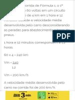 Equações no cálculo da velocidade média de um veículo - Brasil Escola